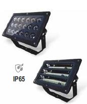 LED Прожектор направленного света, 36Вт, 72Вт, IP65, RGB