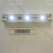 Светодиодный модуль BV-PVC-SMD-1*3-CW, C, влагозащищенный, холодный белый