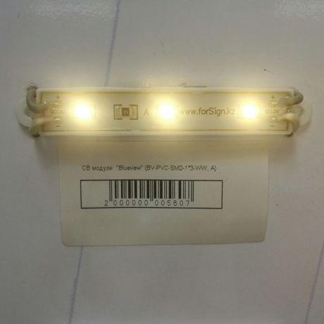 Светодиодный модуль BV-PVC-SMD-1*3-WW, A, теплый белый