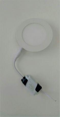 Встраиваемые светодиодные светильники LED ROUND PANEL 6W 6000к