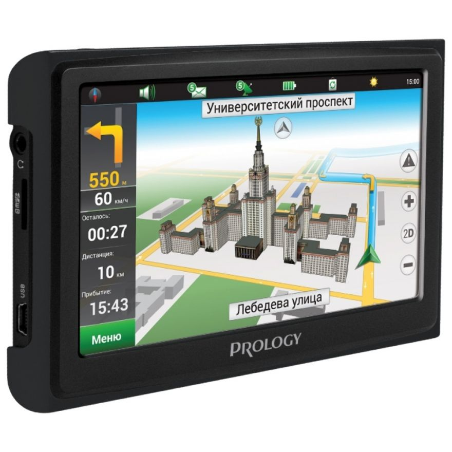 Prology iMap-4300 Black GPS навигатор