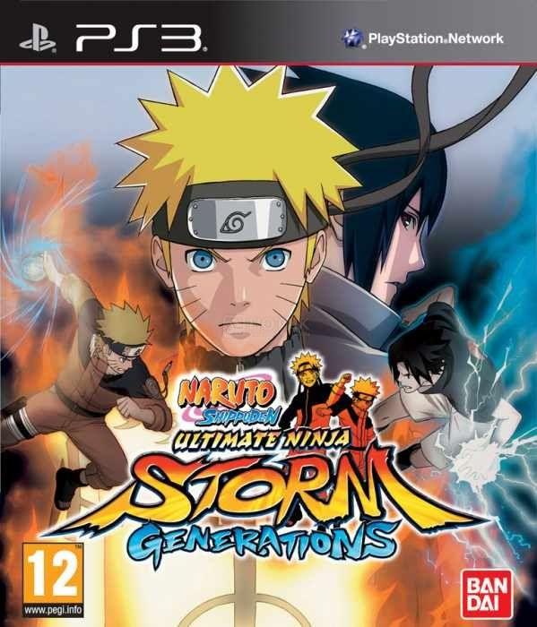 Игра Naruto Shippuden Ultimate Ninja Storm Generations (PS3)