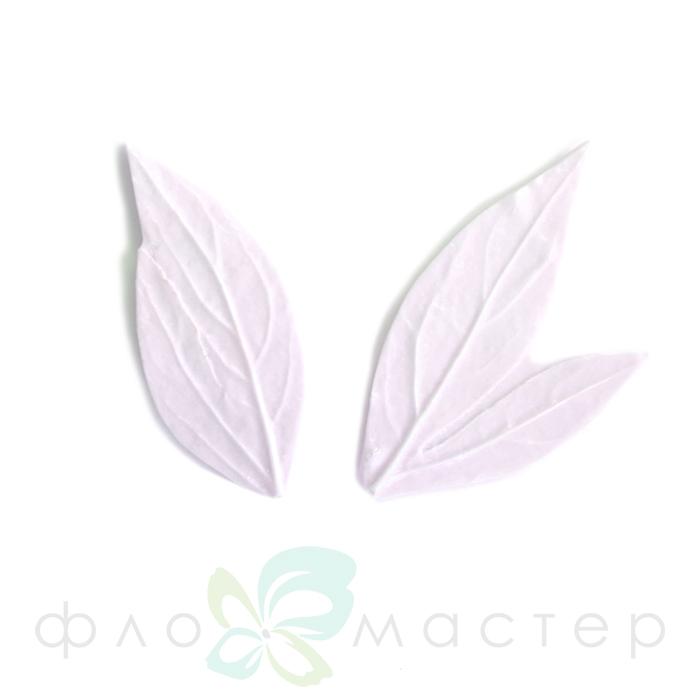 Набор молдов листья пиона малый (2шт)