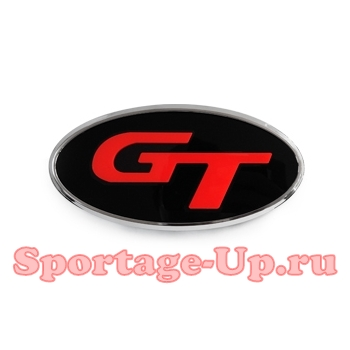 "Эмблема ""GT"" 3D на перед или зад Sportage4 QL, MBOL"