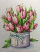 "Cross stitch pattern ""Spring bouquet""."