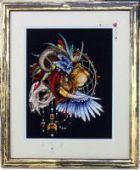 "Cross stitch pattern ""Lion1""."
