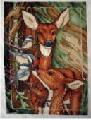 "Cross stitch pattern ""Deer""."