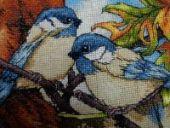 """Cross stitch pattern """"Squirrel""""."""
