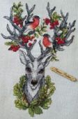 "Cross stitch pattern ""Forest keeper""."