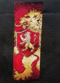 """Cross stitch patterns Bookmarks """"Houses Of Westeros""""."""