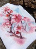 "Cross stitch pattern ""First flowers""."