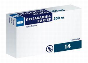 Прегабалин 300мг 14кап
