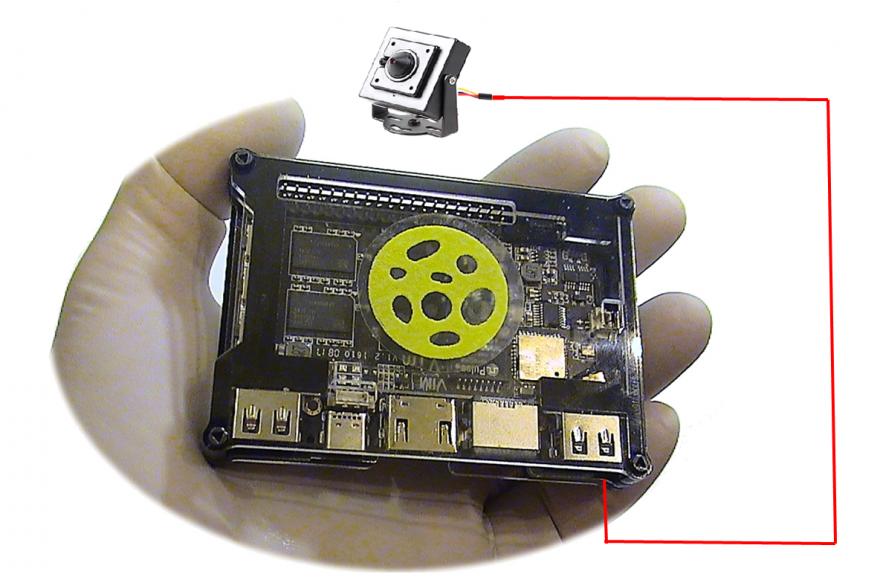 Онлайн мини-видеорегистратор ReaVIM-CCTV