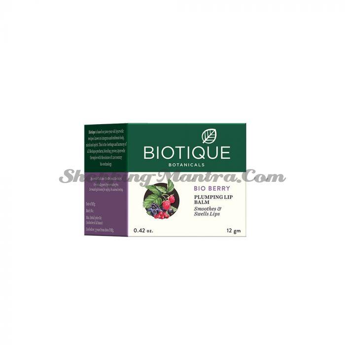Бальзам для увеличения объема губ Биотик Лесные ягоды | Biotique Bio Berry Plumping Lip Balm