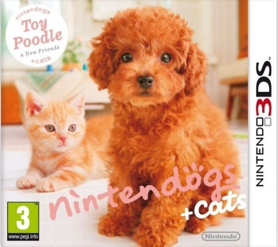 Игра Nintendogs + Cats : Toy Poodle  (Nintendo 3DS)