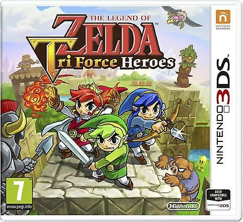 Игра The Legend of Zelda Tri Force Heroes (Nintendo 3DS)