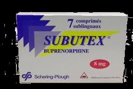 Субутекс (SUBUTEX B8) 7 таблеток по 8мг
