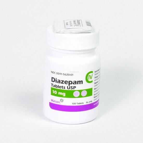 Диазепам 10мг 100т