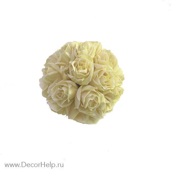 Шар из роз (8шт)