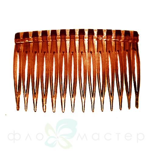 Основа для гребня 4,5*7 см коричневый пластик