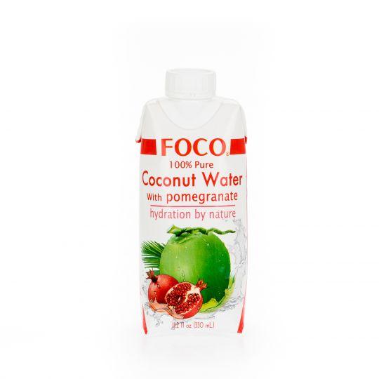 Кокосовая вода с соком граната