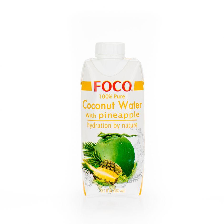 Кокосовая вода с соком ананаса