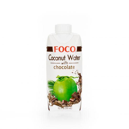 Кокосовая вода с шоколадом