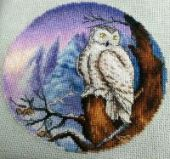 "Cross stitch pattern ""Night watch""."