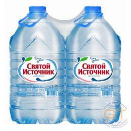 Доставка воды Святой источник, негаз. 5 л, пэт (1 уп./2 бут.)