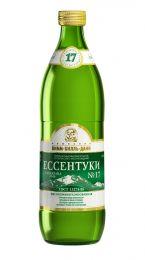 Доставка минеральной воды Есентуки №17, (0,5л/12шт.) стекло