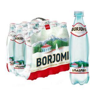 Доставка минеральной воды Боржоми, (0,5л/12шт.) пэт