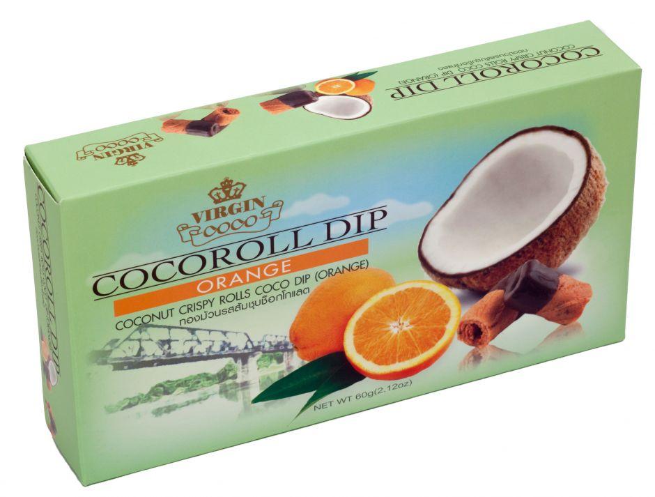 """Конфеты """"Коко-роллы с шоколадом и апельсином"""""""