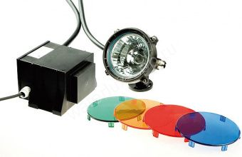 UWL 12100 mit Zubehoer (комплект), подводный светильник