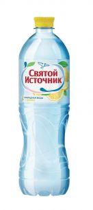 Доставка воды Святой источник, негаз.с соком лимона 1 л, пэт (1 уп./12 бут.)
