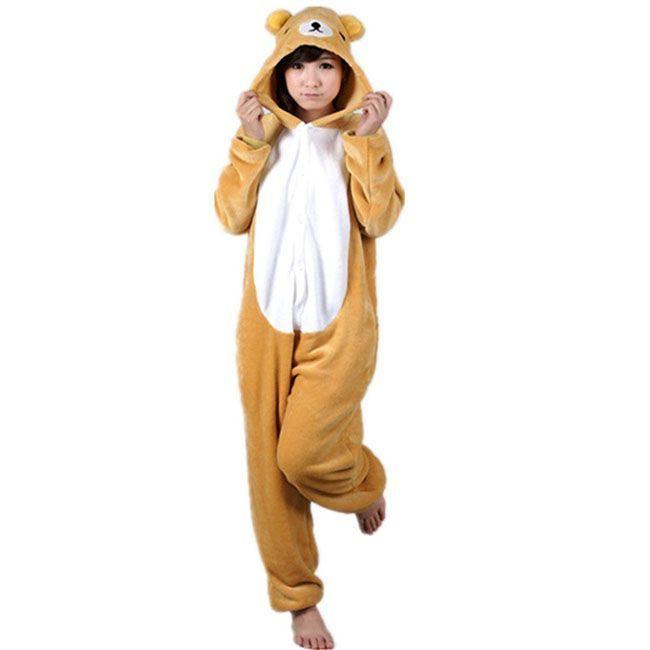 Пижама Кигуруми Медведь Рилаккума dfe260f8cfd4e