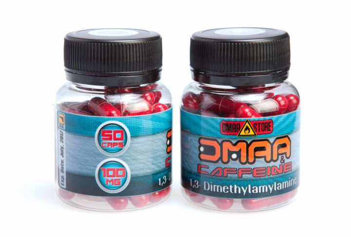 DMAA (герань)+кофеин 100 мг 50 капсул