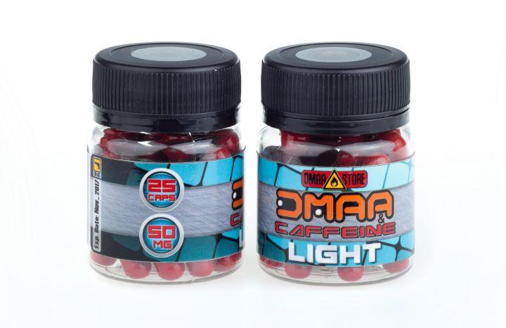 DMAA (герань)+кофеин Light 50 мг 25 капсул