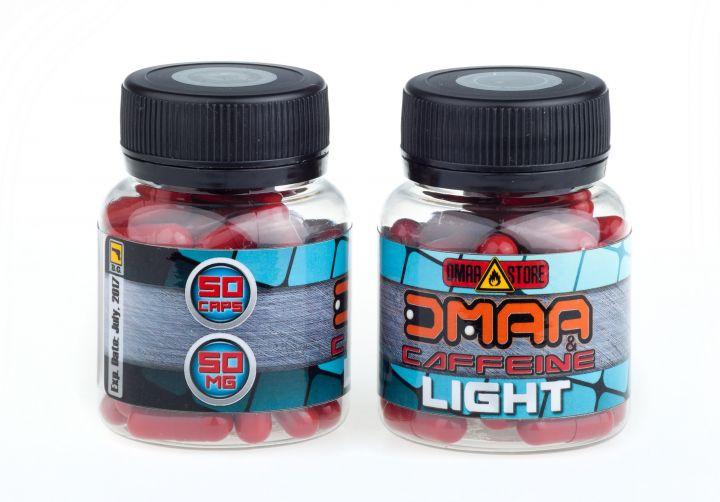 DMAA (герань)+кофеин Light 50 мг 50 капсул
