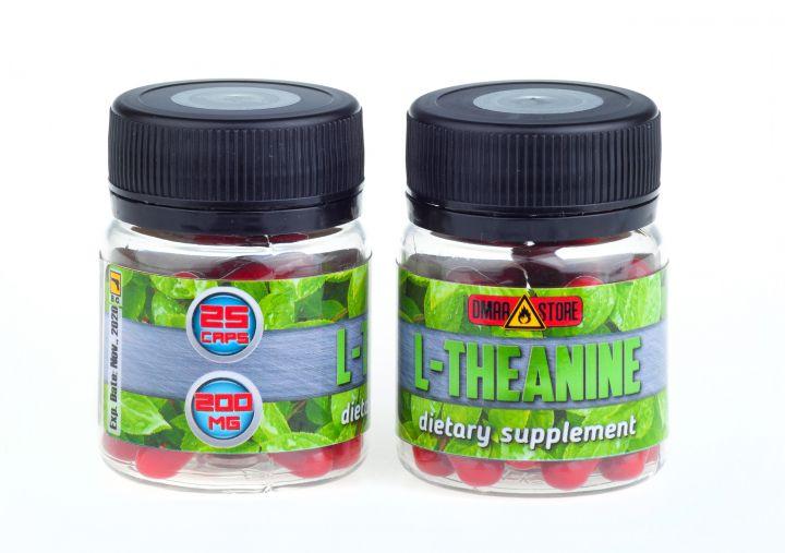 L-Theanine (Тианин) - 200 мг 25 капс