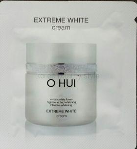 O HUI Extreme White cream (крем) -  крем из линии средств с отбеливающим эффектом от бренда O HUI   пробник  саше 1 мл