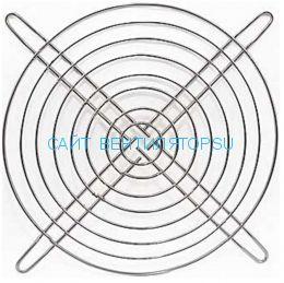 Решетка для вентилятора металлическая 150х150
