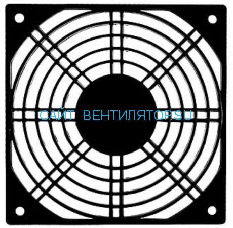 Решетка для вентилятора пластмассовая 120х120