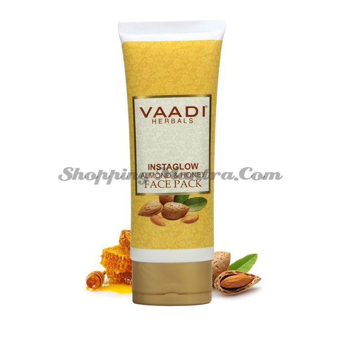 Освежающая маска для лица Мед и Миндаль Ваади | Vaadi Instaglow Almond & Honey Face Pack
