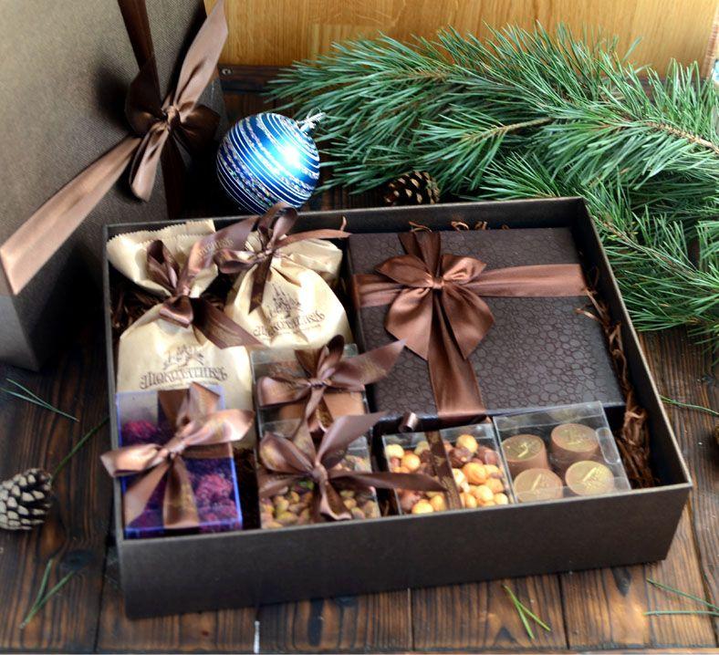 """Коробка """"Шоколадный Стиль"""""""