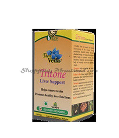 Тритон Нисарга Хербс для здоровья печени   Nisarga Herbs Tritone Capsules Liver Care