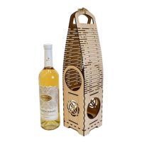 деревянная коробка для бутылки с вином
