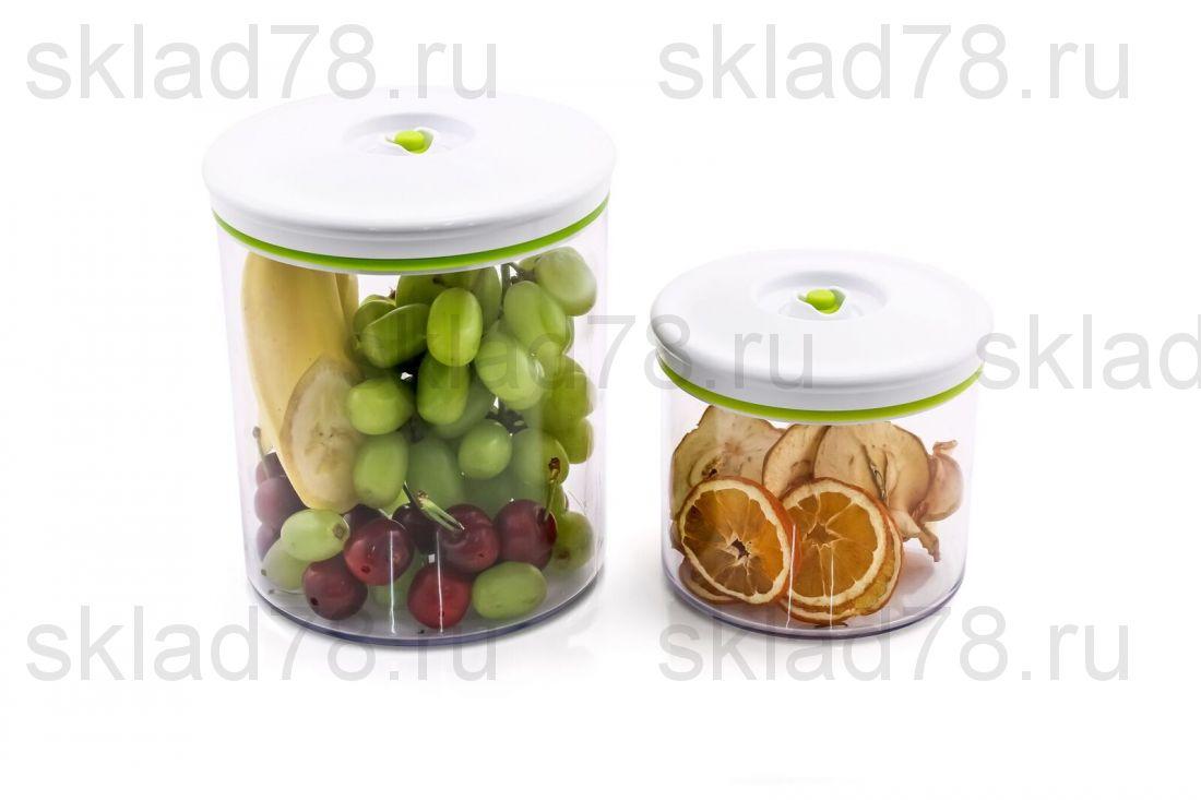 Набор вакуумных контейнеров GOCHU 1,0 и 2,5 л