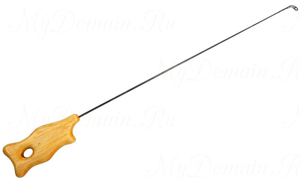 """Удочка зимняя авторская Zettech Model №3 длина 43 см, вес 9 гр.(балансир/блесна) под """"КИВОК"""""""