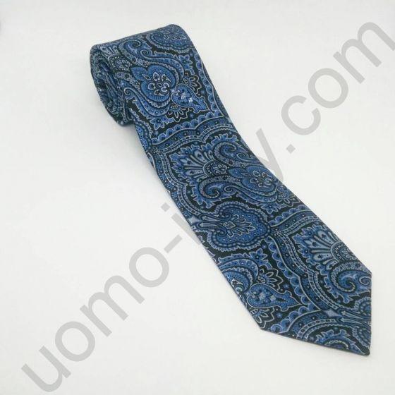 галстук в синие огурцы