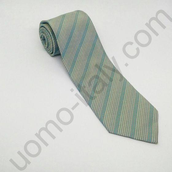 галстук кирпичный в сиреневый цветок